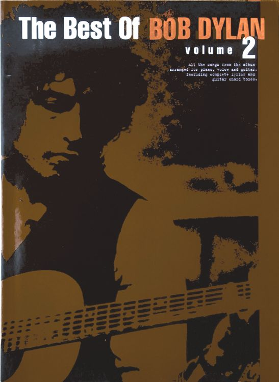 The Best Of Bob Dylan 2000 songbook
