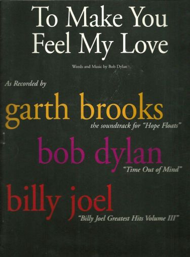 bob dylan make you feel my love movie Hope Floats' Shawnee Press sheet music