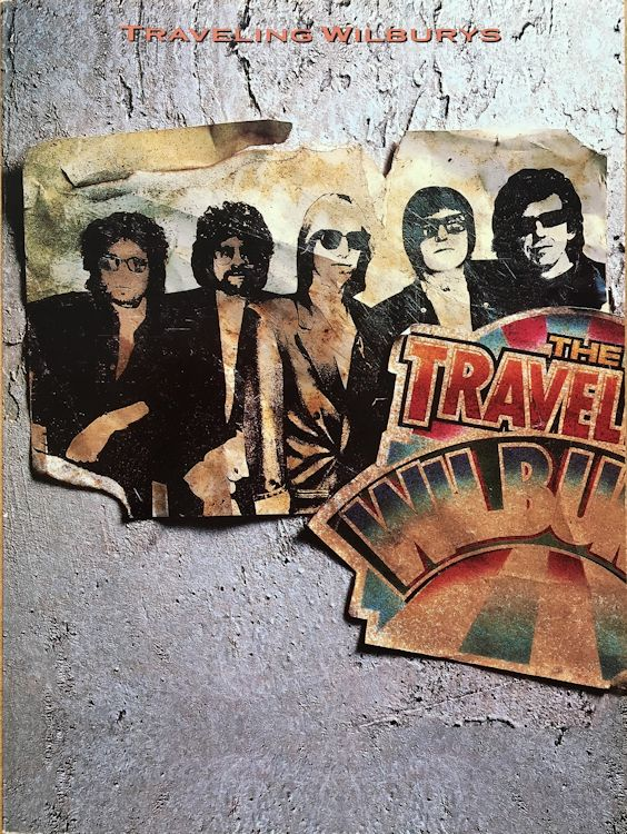 Traveling Wilburys Volume One Songbook 1988, US, Piano Vocal Chords edition