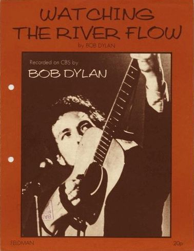 bob dylan watchin' the river flow uk feldman sheet music